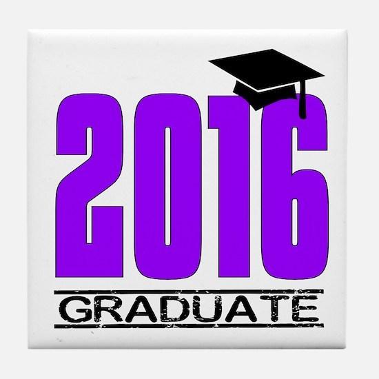 Funny Seniors class 2016 Tile Coaster