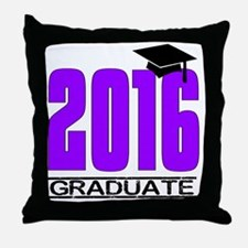 Unique High school grad Throw Pillow
