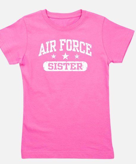 Unique Air force sister Girl's Tee