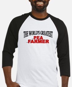 """The World's Greatest Pea Farmer"" Baseball Jersey"