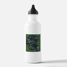 Crows Water Bottle