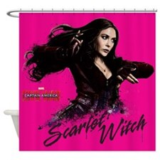 Scarlet Witch Shower Curtain
