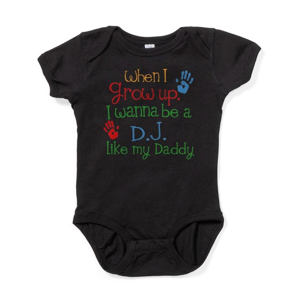 CafePress DJ Like Daddy Baby Bodysuit