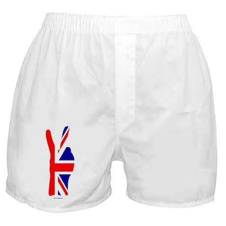 Two finger salute... Boxer Shorts
