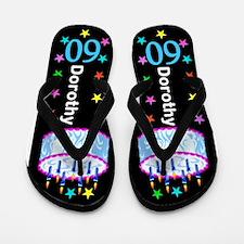 60th Festive Flip Flops