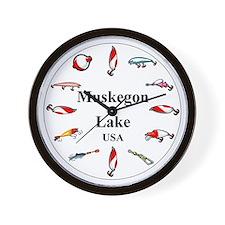 Muskegon Clocks Wall Clock