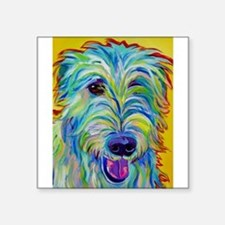 Irish Wolfhound Rectangle Sticker