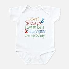 Computer Programmer Like Daddy Infant Bodysuit
