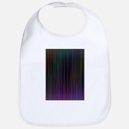 Decorative Colorful Stripes Bib