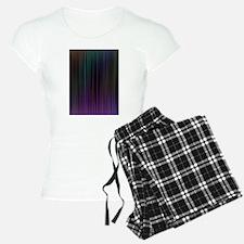 Decorative Colorful Stripes Pajamas