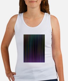 Decorative Colorful Stripes Tank Top