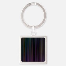 Decorative Colorful Stripes Keychains
