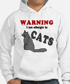 Allergic To Cats Hoodie