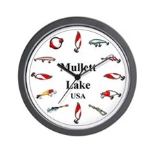 Mullett Lake Clocks Wall Clock