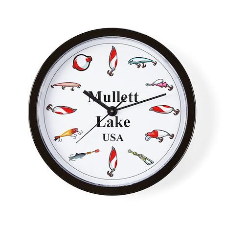 Mullett Lake Clocks Wall Clock
