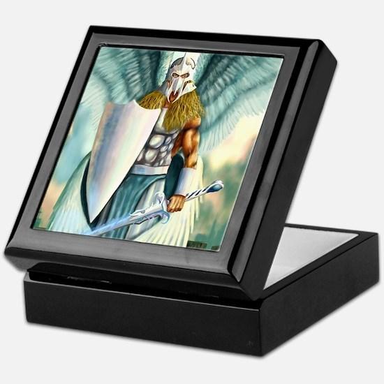 Saint Archangel Michael Keepsake Box