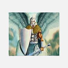 Saint Archangel Michael Throw Blanket