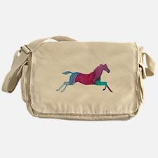 Galloping Horse Messenger Bag