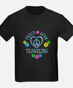 Peace Love Traveling T