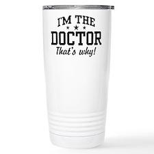 Cute Doctor Thermos Mug