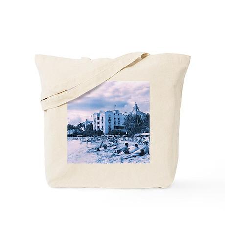 Vintage Resort Tote Bag