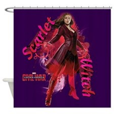 Scarlet Witch Standing Shower Curtain