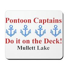 Pontoon Captains Mousepad