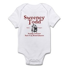 Sweeney Todd Infant Bodysuit