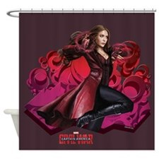 Scarlet Witch Hex Shower Curtain