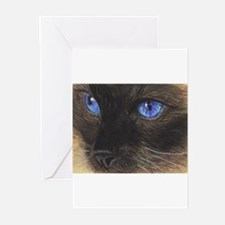 Siamese Eyes.png s Greeting Cards