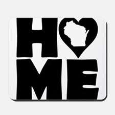 Wisconsin Home Tees Mousepad