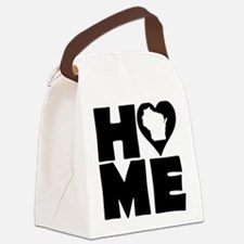 Wisconsin Home Tees Canvas Lunch Bag