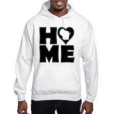 Wisconsin Home Tees Hoodie Sweatshirt