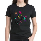 Flowers Women's Dark T-Shirt