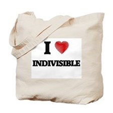 I Love Indivisible Tote Bag