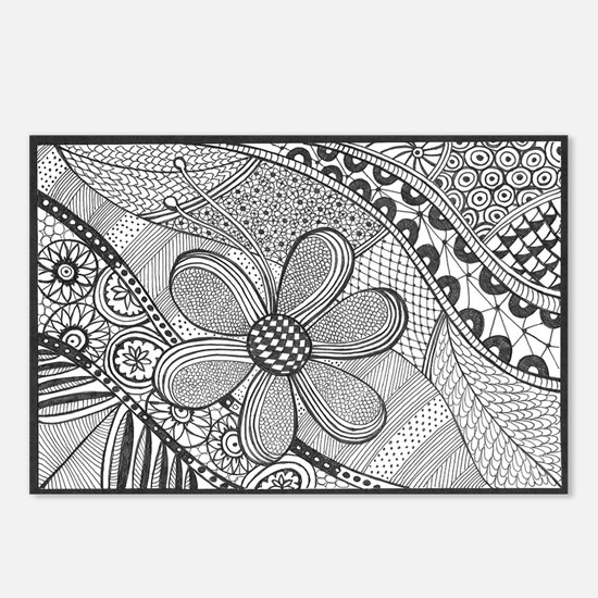 Zentangle Postcards (Package of 8)