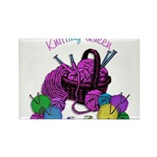 Knitting Queen Magnets