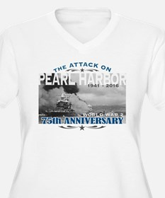 Pearl Harbor Attack Plus Size T-Shirt