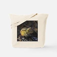 Cute Chippy the chipmunk Tote Bag