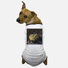 Sunbathing Chipmuk Dog T-Shirt