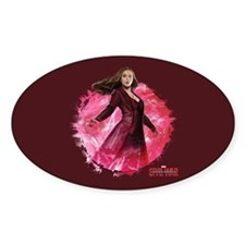 Scarlet Witch Red Energy Decal