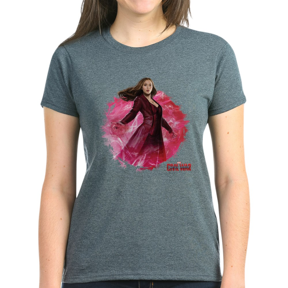 CafePress SCARLET WITCH RED ENERGY TEE