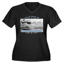 Pearl Harbor Anniversary Plus Size T-Shirt