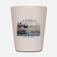 Pearl Harbor Attack Shot Glass