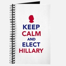Keep calm and elect Hillary Journal