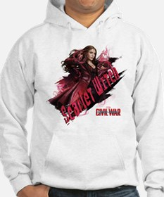 Scarlet Witch Attack Hoodie