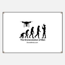 The Dronevolution of Man Banner