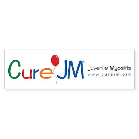 Cure jm juvenile myositis bumper bumper sticker by curejm for Stickers juveniles