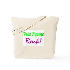 Peds Nurses Rock! Tote Bag