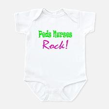 Peds Nurses Rock! Infant Bodysuit